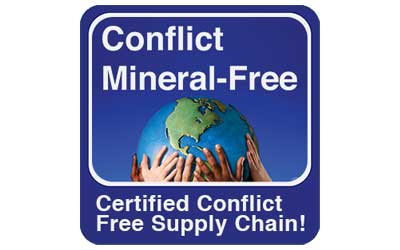 Conflict Mineral-Free Certified